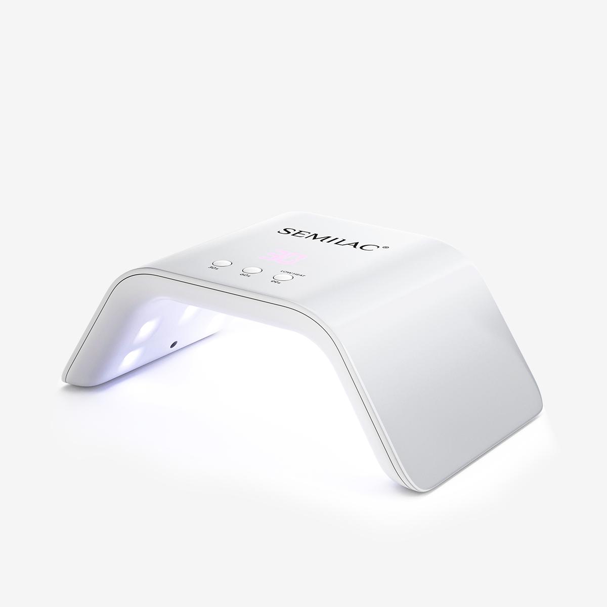 Lampa UV LED 36W biała