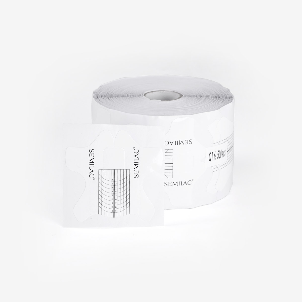 Semilac Shaper Wide Nail Forms - 500 szt.
