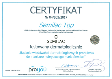 semilac top proyou.
