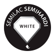 semilac semihardi white
