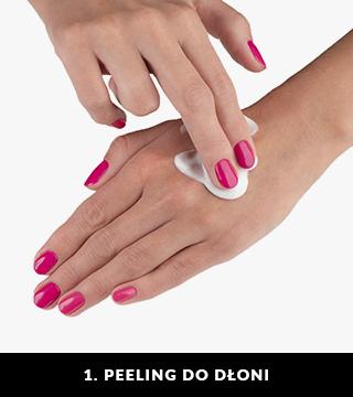 Peeling do dłoni