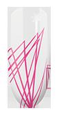 Semilac Spidergum 05 Neon Pink