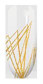 Semilac Spidergum 04 Gold