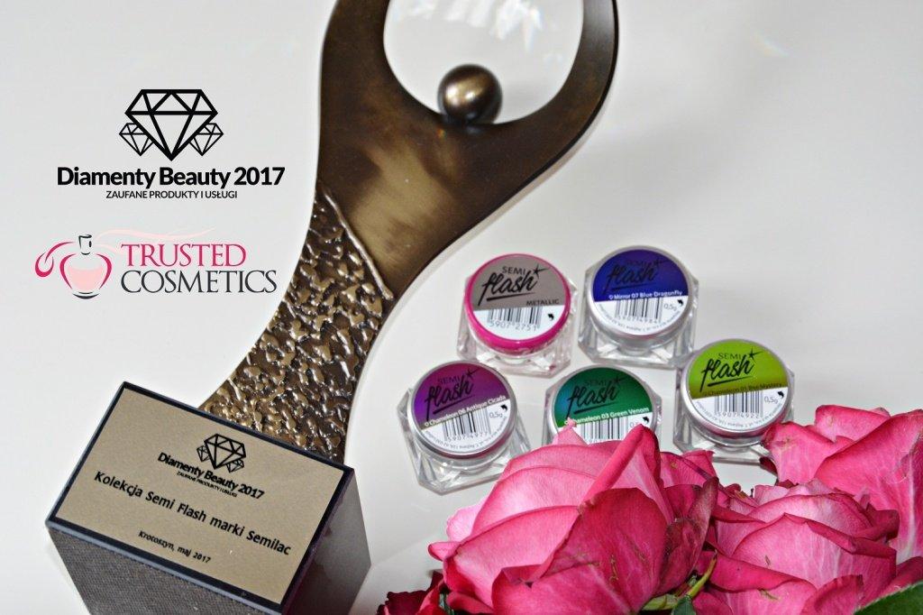Kolekcja SemiFlash marki Semilac nagrodzona Diamentem Beauty 2017